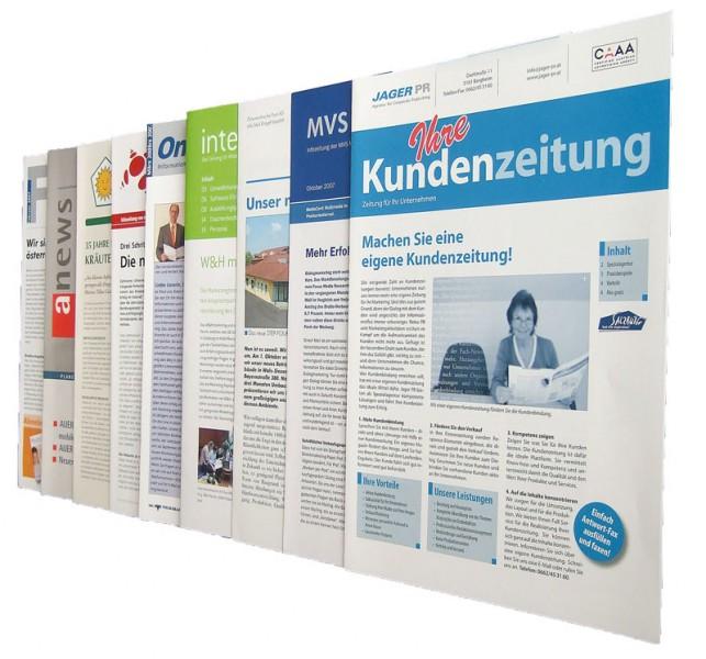 Die Kundenzeitungen von JagerPR