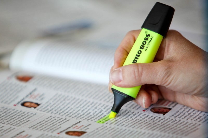 Der Küchenzuruf hilft beim Schreiben Jager PR