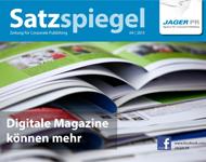 Der Satzspiegel von Jager-PR als Tablet-PDF