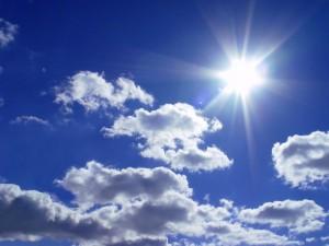 Heute scheint die Sonne