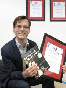 Clemens Jager beim Mercury Award