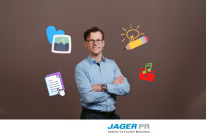 Clemens Jager präsentiert Content Marketing Tipps