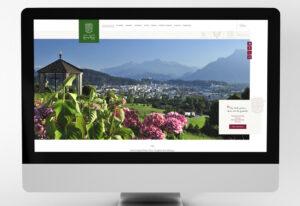 Website des Hotel Gasthof Maria Plain